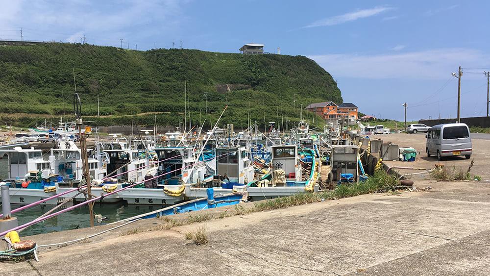 崖の上の飯岡刑部岬