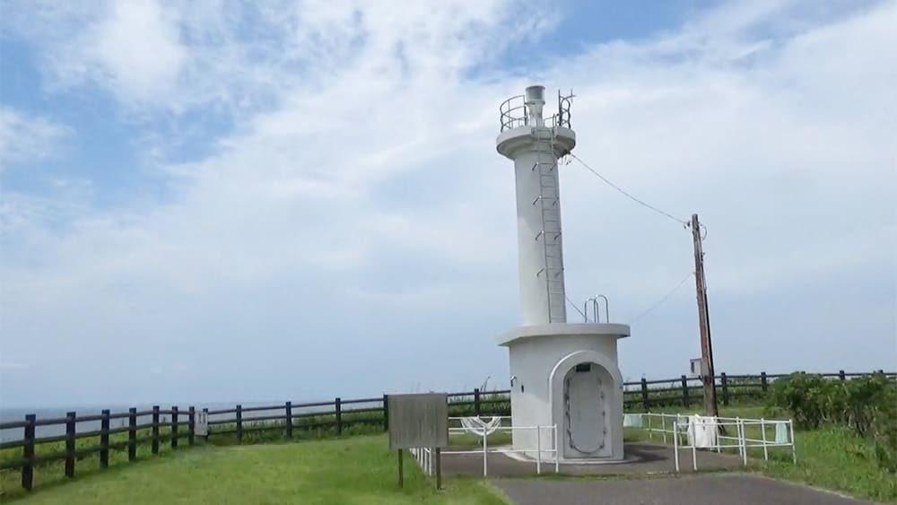 刑部岬にある飯岡灯台