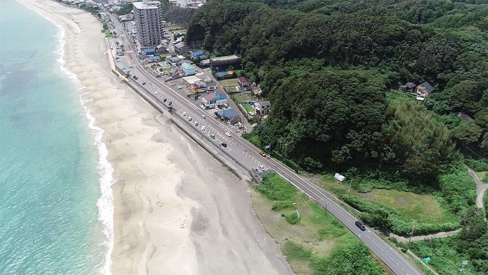 部原海岸 駐車場