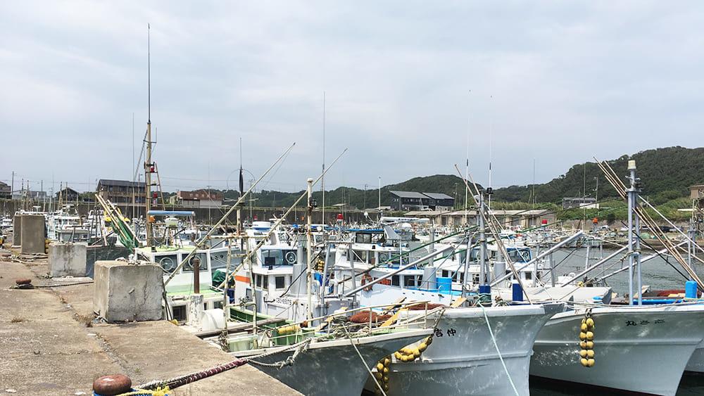 飯岡漁港 船着場