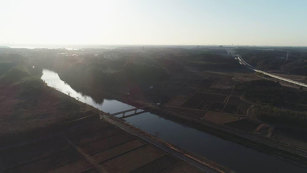 印旛沼 印旛捷水路