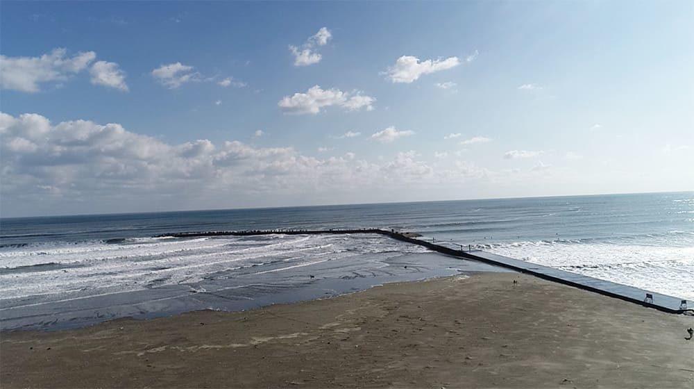 片貝海岸 片貝新堤サーフポイント