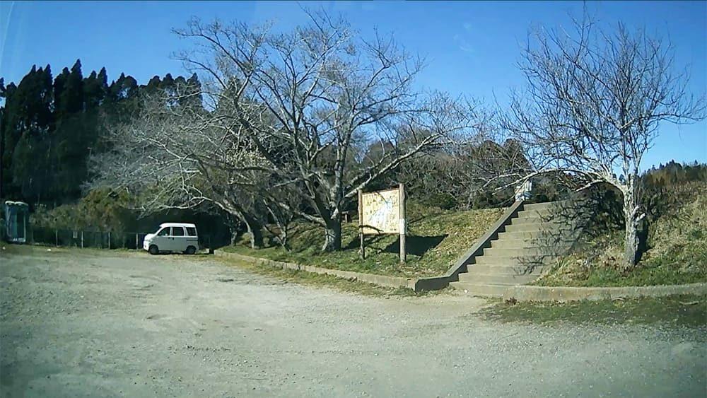 雄蛇ヶ池 後ろの駐車場