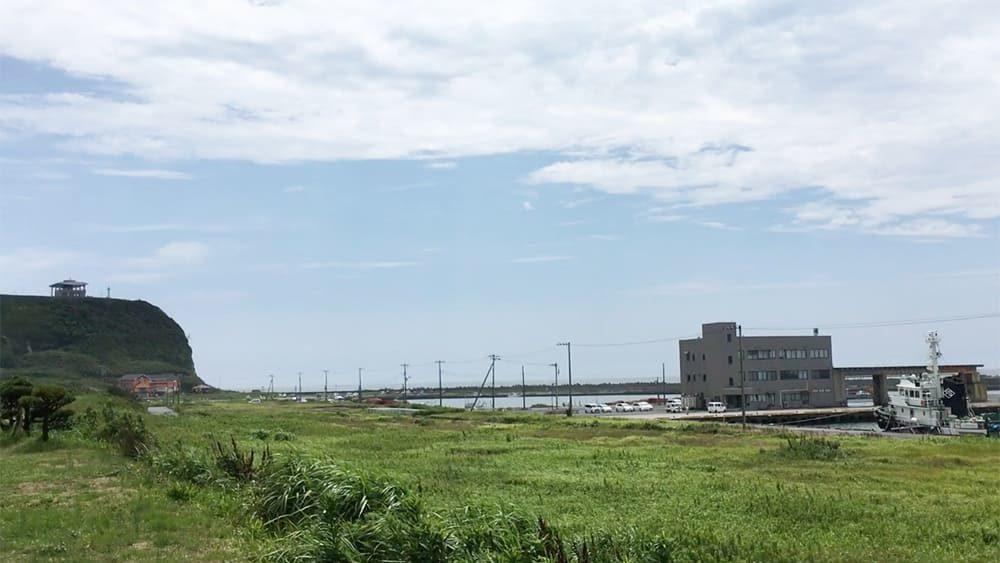 しらす亭から見た飯岡漁港