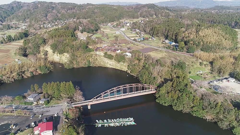 亀山湖 亀山水産センター