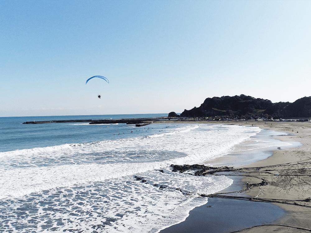 釣ヶ崎海岸サーフィンビーチ
