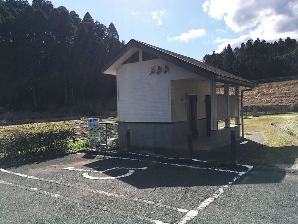 丑ヶ池 駐車場とトイレ