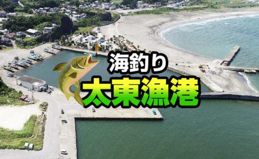 海釣り 太東漁港